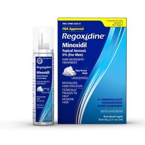 regoxidine mens 5 minoxidil foam