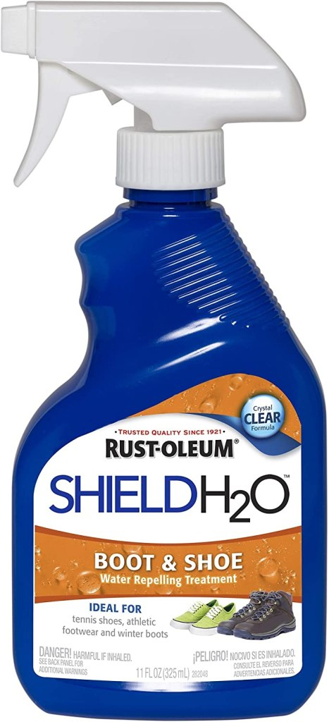 Rust-Oleum, Clear 280886 Shield H2O Boot and Shoe Spray