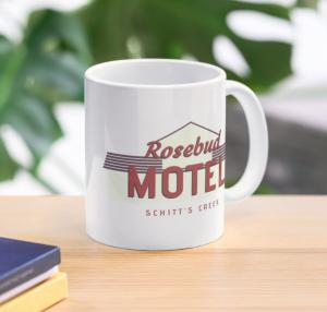 Rosebud Motel Mug