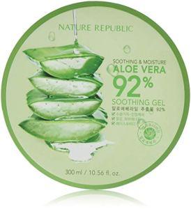 aloe for skin soothing gel