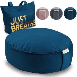 Anja Buckwheat Meditation Cushion