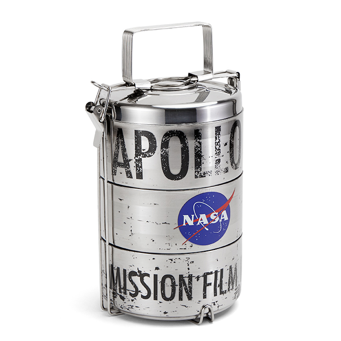 Apollo 11 Mission Film Reel Lunch Canister ThinkGeek