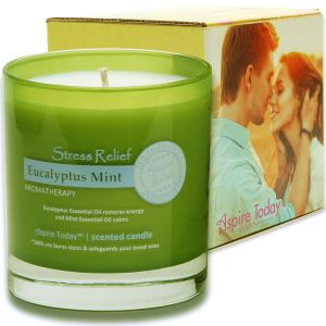 Aspire Today Aromatherapy Stress Relief Candle
