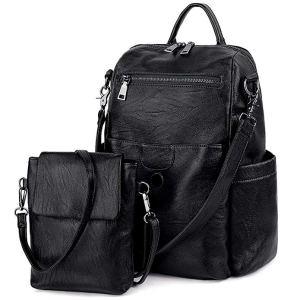 best backpack purses black leather