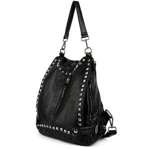 best backpack purses black