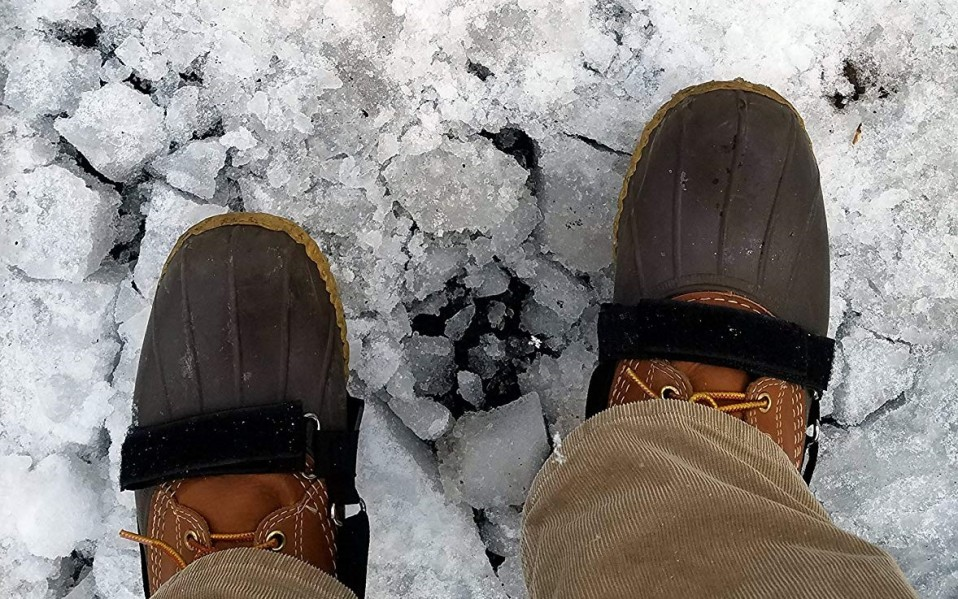best winter cleats for shoes amazon