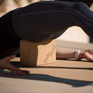 BodyGood Natural Cork Yoga Block