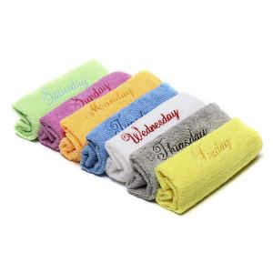 Microfiber Face Towels Washcloths