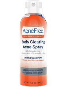 butt acne treatment clearing spray