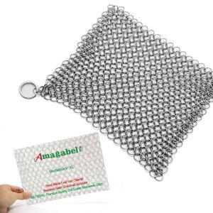 how to clean cast iron amagabeli