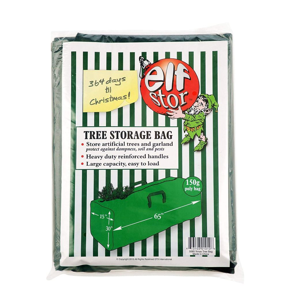 how to store christmas tree storage bag container