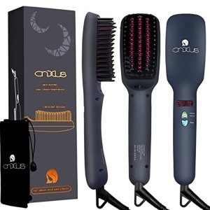 cnxus ionic straightener brush amazon