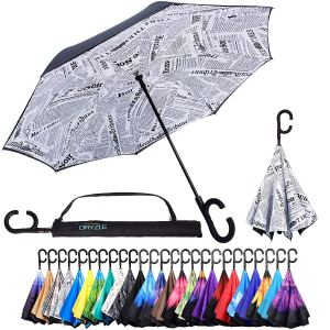 Dyzle Reverse Inverted Inside Out Umbrella