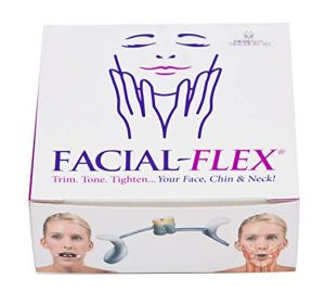 facial-flex facial exercise and neck toning kit amazon