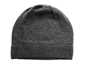 Feeling Pampered Gray Pure 100% Cashmere Beanie