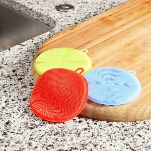 Food Safe Silicone Kitchen Sponge and Scrubber