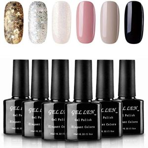 best gel nail polish gellen sparkle