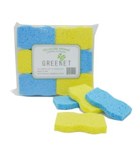 Greenet Cellulose Cleaning Sponges