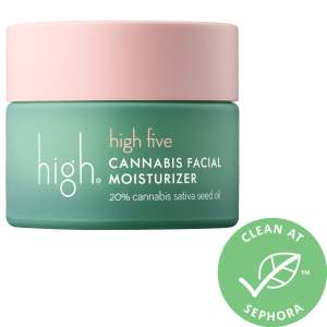 high beauty high five cannabis seed facial moisturizer sephora