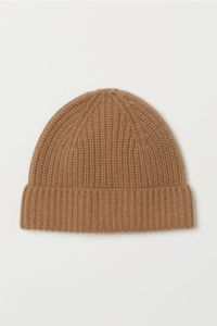 Tan Beanie Cashmere H and M