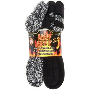 Hot Feet Cozy Heated Thermal Socks