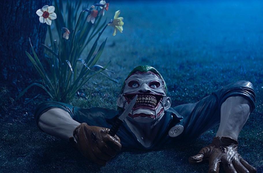 Joker Garden Statue