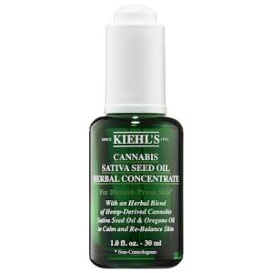 kiehl's cannabis sativa seed oil herbal concentrate sephora