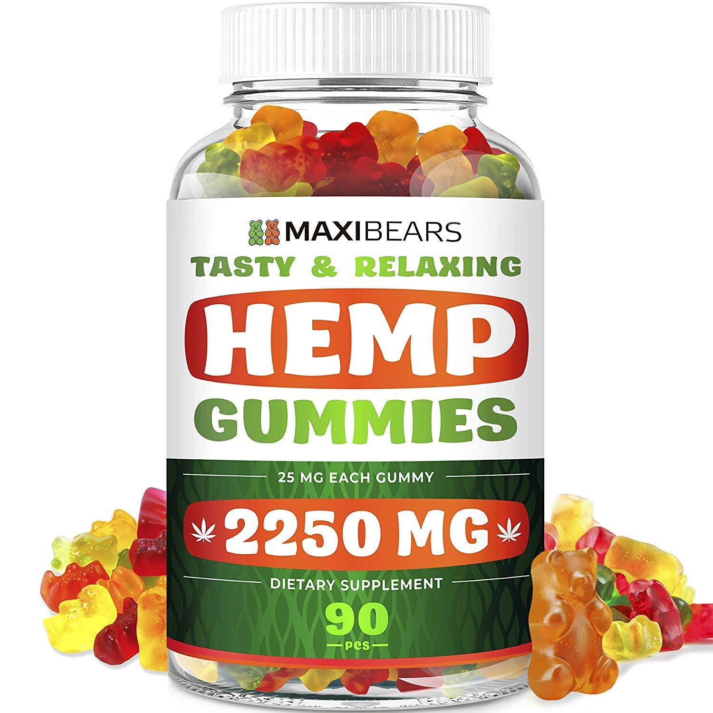 Maxibears Hemp gummies