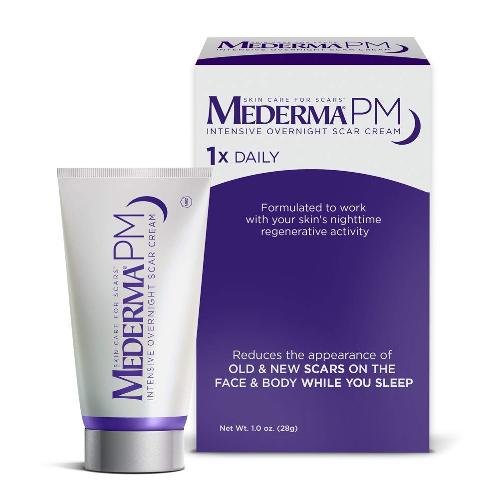 mederma pm scar cream