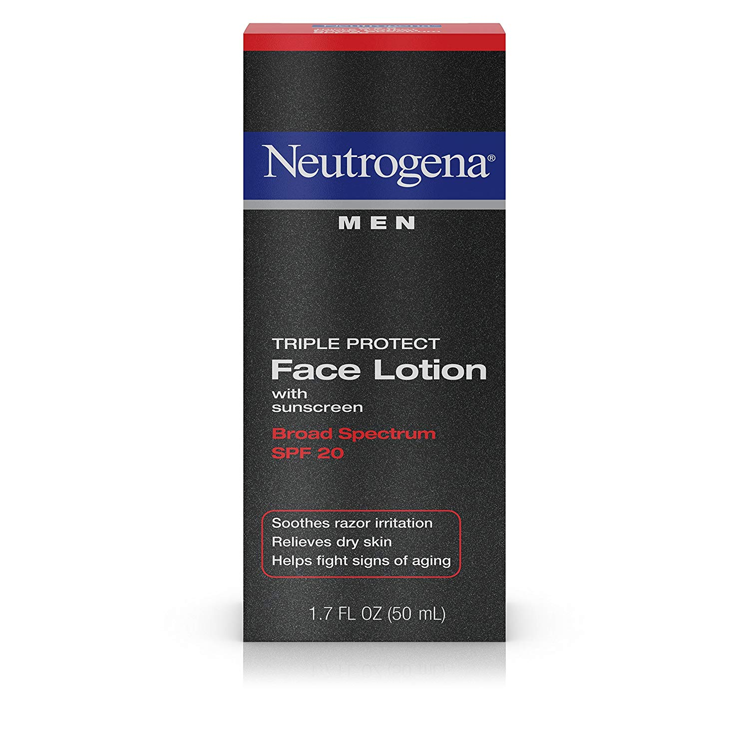 neutrogena triple threat men's moisturizer