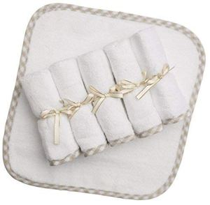 Channing and Yates Organic Baby Washcloths