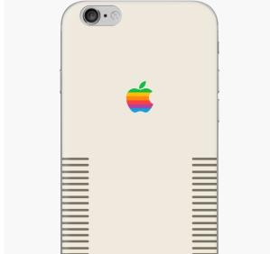 Apple Retro iPhone Cover