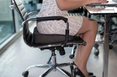 posture-correcting seat pads