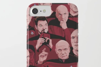 star trek phone case