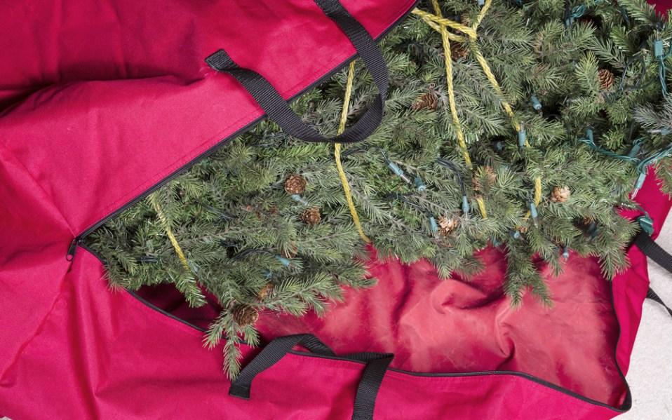 best christmas tree storage bag tips
