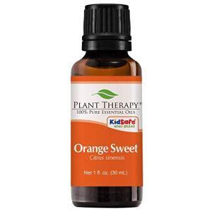 best essential oils shower orange sweet