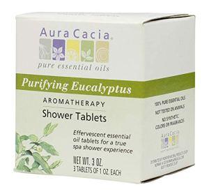 best essential oils shower eucalyptus tablets