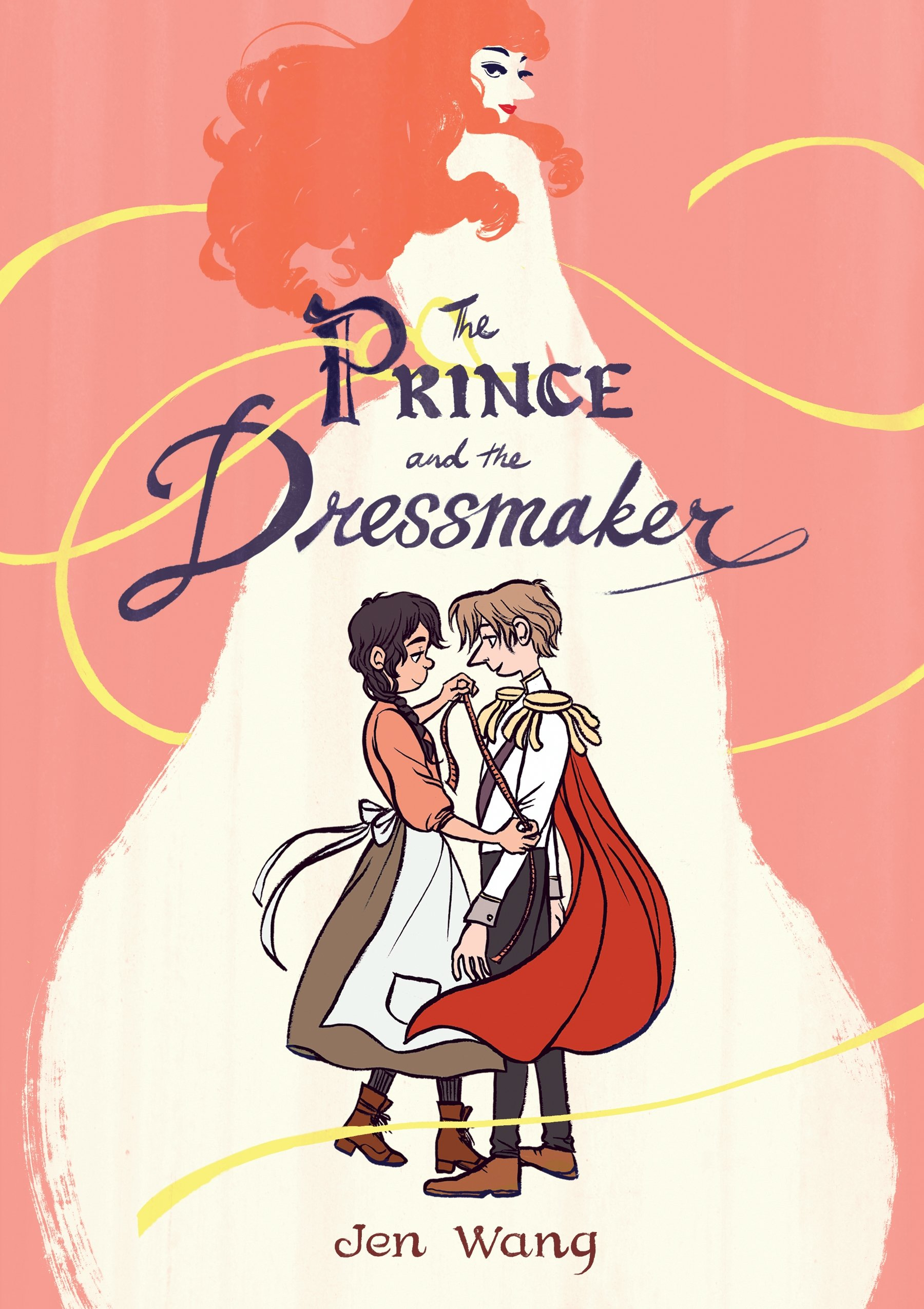 the prince and the dressmaker graphic novel