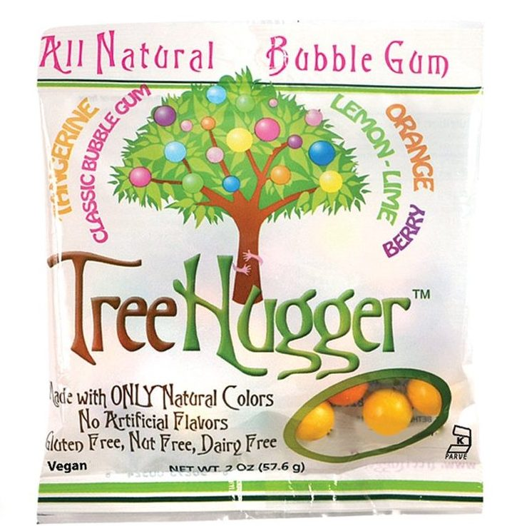 Natural Tree Hugger Bubble Gum