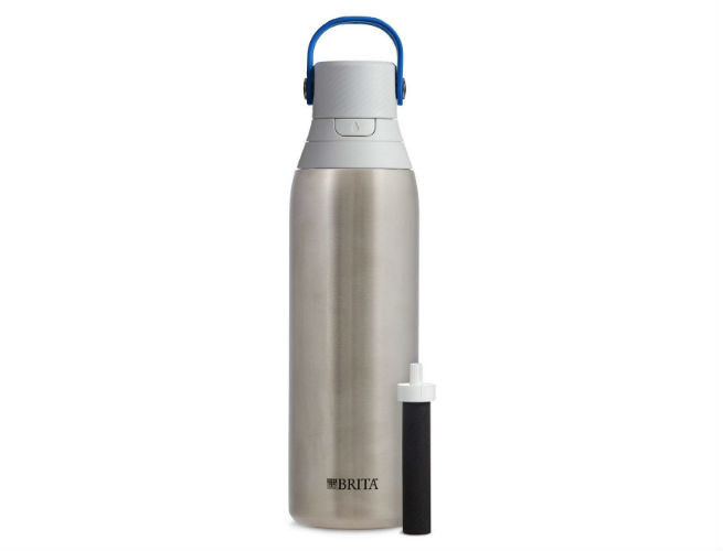 Water Bottle Built-In Filter: Brita Water