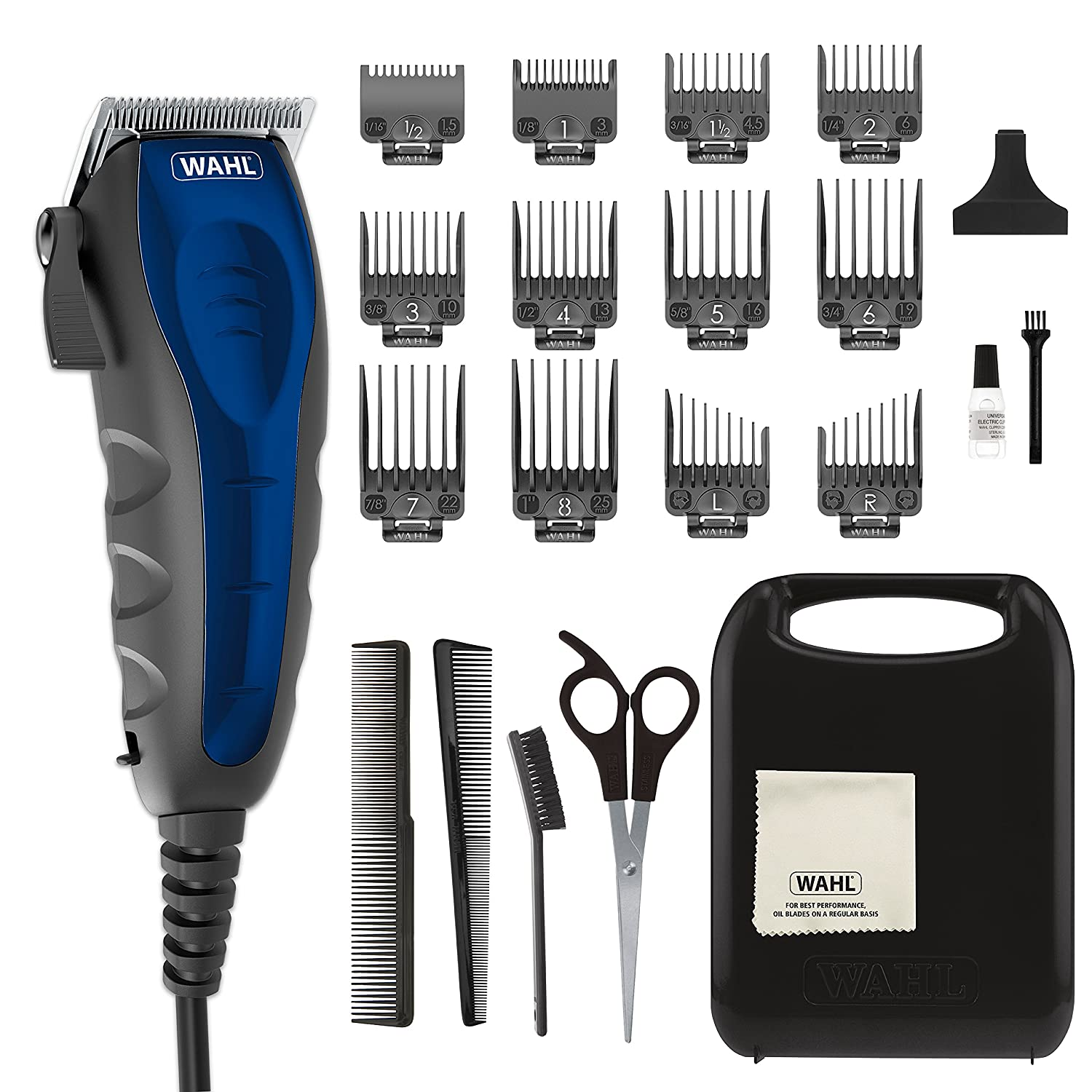 Wahl Self-Cut Personal Haircutting Kit, Wahl model 79467, best hair clippers
