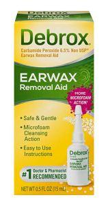 how to remove ear wax debrox