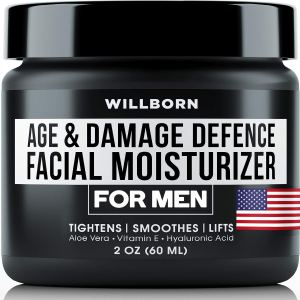 Willborn Age and Damage Defence Facial Moisturizer For Men