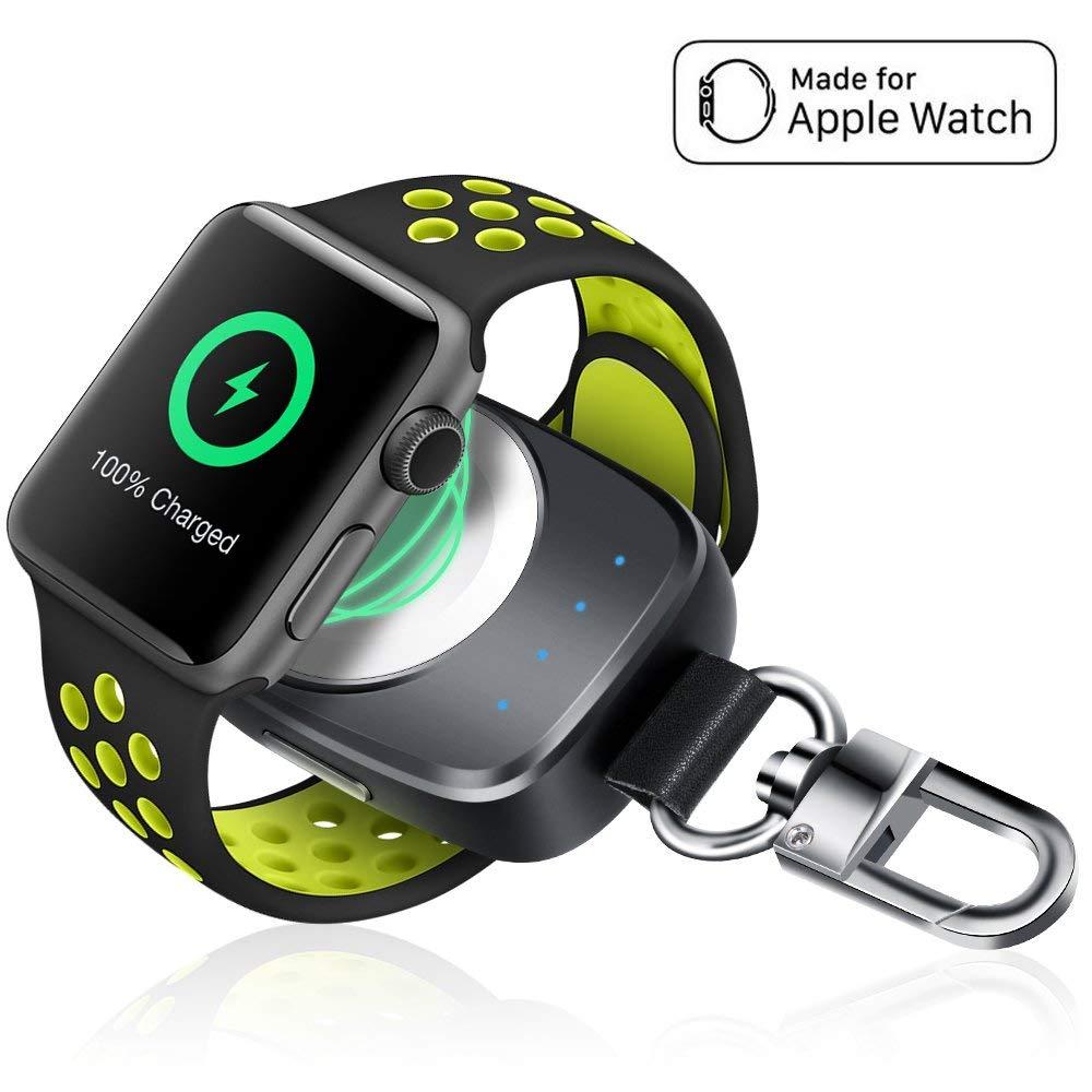 wireless apple watch keychain amazon