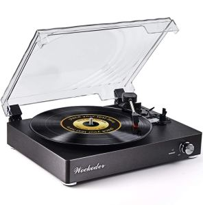 Wockoder Vintage Turntable