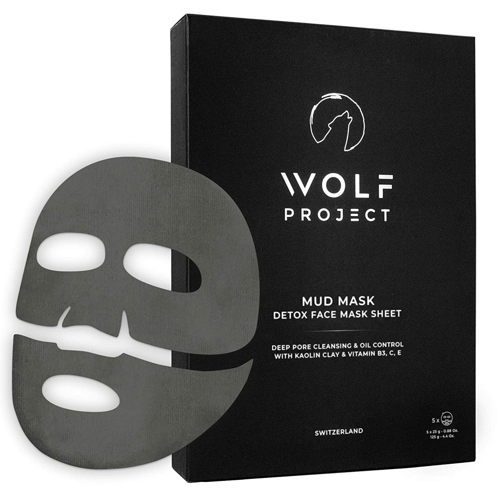 wolf project - acne sheet mask for men
