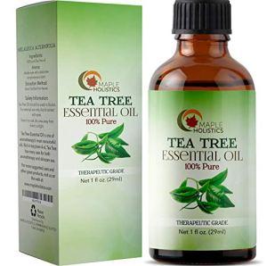 yellow nails hacks tea tree oil
