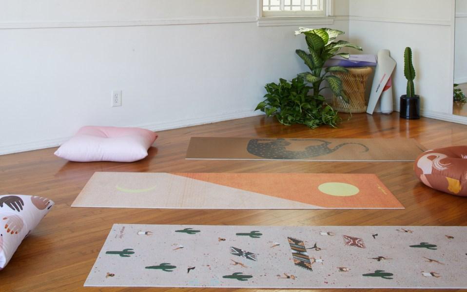 yoga mats society6