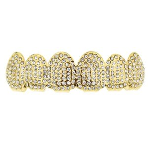 Fake Diamond Grill Jewelry