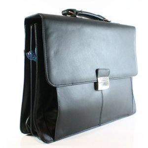 Leather Briefcase Men's